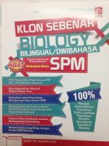 Buku Klon Sebenar Biologi Cerdik RM 10.00 sahaja