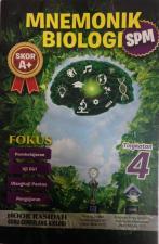 Buku Mnemonik Biologi. RM 10.00 sahaja