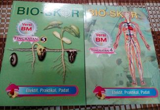 Modul Pembelajaran Biologi. Bio-Skor. RM 20.00 sahaja. Versi pilihan : BM / BI Tingkatan : 4 / 5